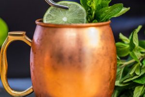 Minty Moscow Mule